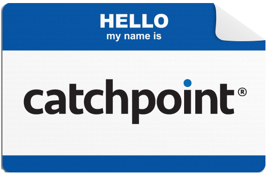 Hello My Name is Catchpoint
