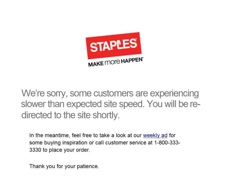 Staples Cyber Monday
