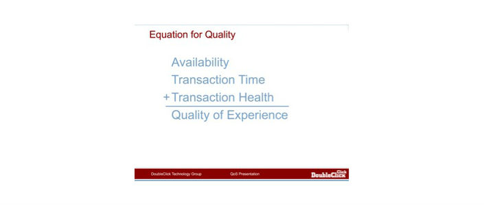 equation for quality