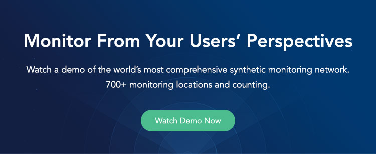Synthetic Monitoring Demo